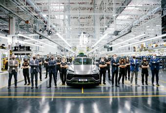 Lamborghini Urus, clap 15.000 #1