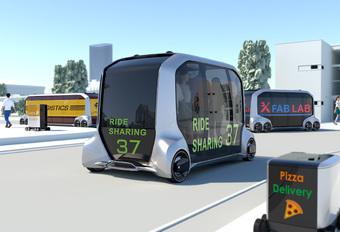Toyota Autonomous commercial EV