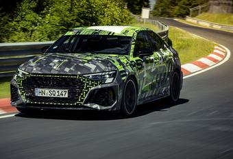 2021 Audi RS 3 Nordschleife Nürburgring