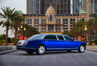 2015 Bentley Mulsanne Grand Limousine by Mulliner