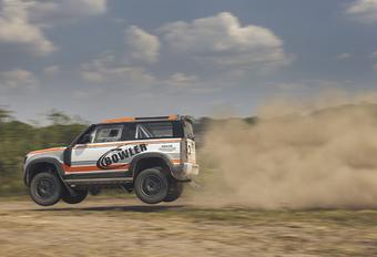 2022 Land Rover Bowler Defender Challenge