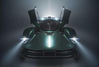 Aston Martin Valkyrie Roadster - Pebble Beach 2021