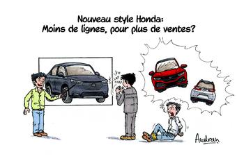 La story d'Audran - Le design Honda