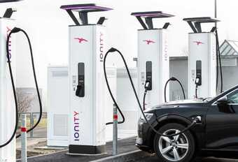 Ionity Recharge station