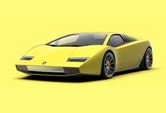 Lamborghini Countach 50 Tribute