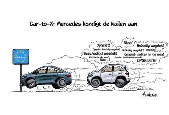 Audrans verhaal - Mercedes kondigt kuilen aan