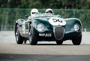Een rondje Zolder met oude Jaguars #1