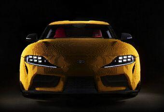 Lego eert Toyota Supra in 477.303 steentjes #1
