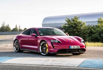 Porsche Taycan 2022