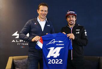 Alonso verlengt bij Alpine #1