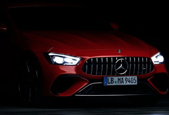 Mercedes-AMG GT PHEV met 800 pk geteased #1