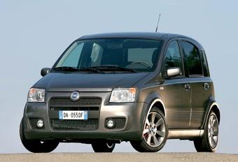 Vintage 2003 Fiat Panda 100HP