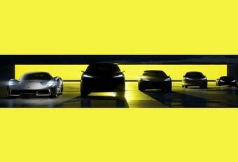 Lotus EV range