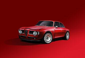 Emilia GT Veloce: klassieke Alfa Romeo Giulia met Quadrifoglio-V6 #1
