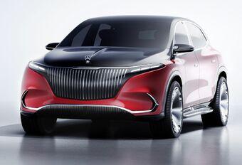 2021 Mercedes-Maybach EQS EV SUV