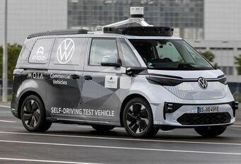 2021 VW ID.Buzz AD - IAA München