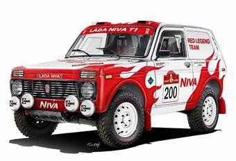 2022 Dakar: Lada Niva Legend