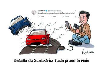 La story d'Audran - Tesla bat Porsche sur le Nürburgring