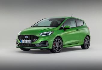 Ford Fiesta ST Facelift 2022