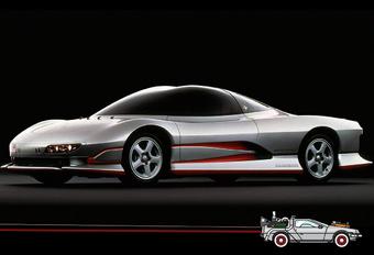 Back to the future met Mitsubishi HSR-II uit 1989 #1