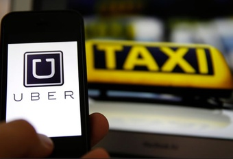 Uber service suspended Brussels