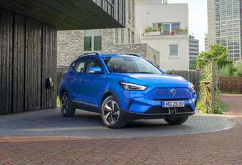 2022 MG ZS EV facelift Long Range