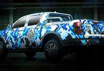 Nieuwe Ford Ranger bijna naakt #1