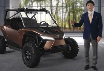 Lexus maakt buggy met waterstofverbrandingsmotor #1