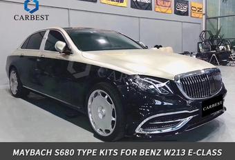 Maak een Maybach van je Mercedes E-Klasse voor minder dan €1.000 #1