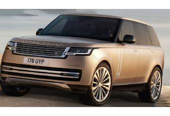 2022 Range Rover gelekt