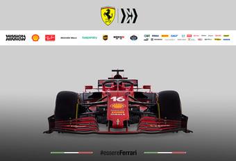 Formule 1 2021: Ferrari SF21 #1