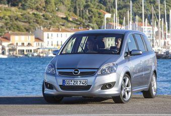 Opel Zafira CNG #1