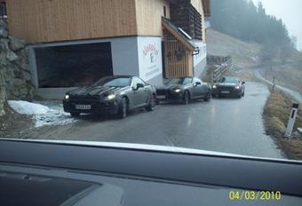 Mercedes SLK piégées en Autriche #1