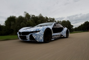 BMW sportive plug-in hybride #1