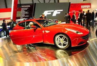 Vidéo Genève : Ferrari FF #1