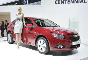 Video Genève : Chevrolet Cruze vijfdeurs #1