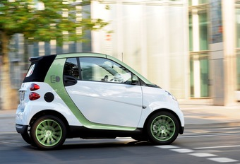 Smart Fortwo electric ED #1