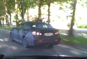 Lexus GS camouflée à Bruxelles #1