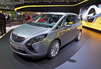 Opel Zafira Tourer (vidéo) #1
