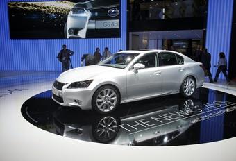 Lexus GS 450h (vidéo) #1