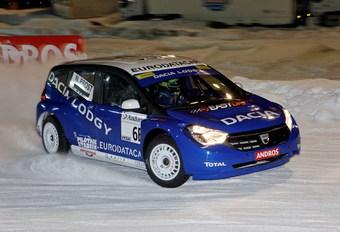 Dacia Lodgy sur glace #1
