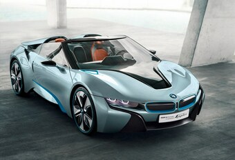 BMW i8 Concept Spyder #1