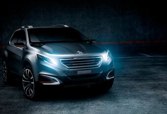 Peugeot Urban Crossover Concept #1