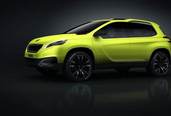 Peugeot 2008 Concept #1