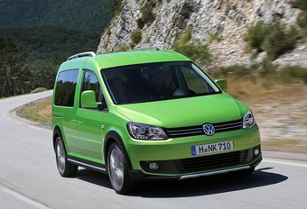 Volkswagen Caddy Cross #1