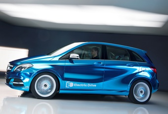 Mercedes B-Klasse Electric Drive #1