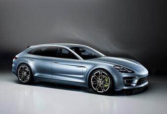 Porsche Panamera Sport Turismo #1