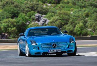 Mercedes SLS AMG Coupé Electric Drive #1
