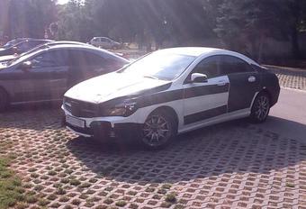 Mercedes CLA capturée #1