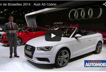 Vidéo salon : Audi A3 Cabrio #1